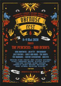 Flyer Obenuse Fest 6